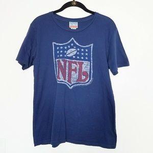 💥4/30 Junk Food NFL Shield Short Sleeve T-shirt.